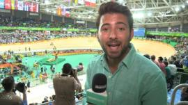 Ricky in the Velodrome