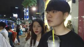 Young people in Seoul