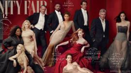 غلاف مجلة فانيتي فير