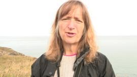 lady on coast