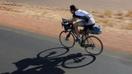 Mark Beaumont on previous endurance ride