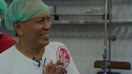 Deli owner Ye Htut Win