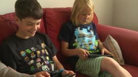 Edward and William on Minecraft