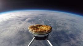 Highest pie on Earth