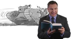 David Walliams reading book