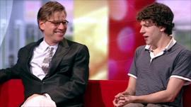 'The Social Network' talk to BBC Breakfast