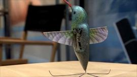 Robot humming bird