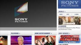Sony website that Lulz Security says it compromised