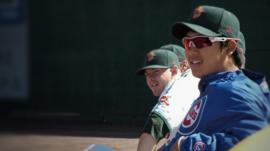 Baseball players in Idaho