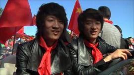 Twins festival in Beijing