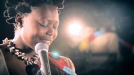 Ugandan singer Tshila