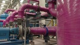 Desalination plant in Northern Spain