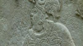 Mayan panel