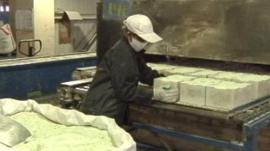 Rare earth metail production line