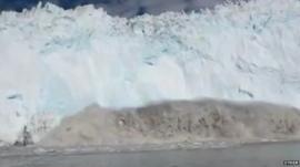 Glacier collapses
