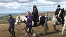 Sarah Gaisford on Dartmoor