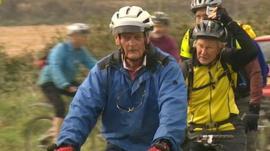 Alan Griffiths celebrates his 90th birthday