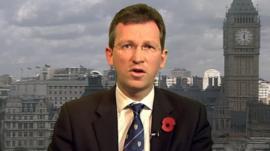 Prisons minister Jeremy Wright