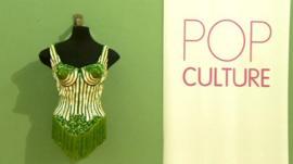 Madonna's Jean Paul Gaultier corset on display