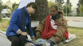 Lyse Doucet and Mohammad Bouazizi