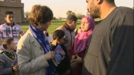 The BBC's Lyse Doucet speaks to Egyptians in President Morsi's hometown