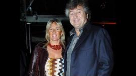 Maurizia Castiglioni and husband Vittorio Missoni