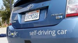 Toyota's self driving car