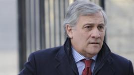 European Commissioner Antonio Tajani
