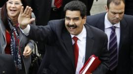 Venezuela's Vice President Maduro
