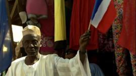 France welcomed in Mali