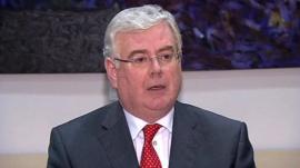 Ireland's Deputy Prime Minister Eamon Gilmore