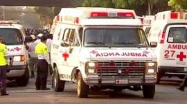 Ambulance in Mexico City
