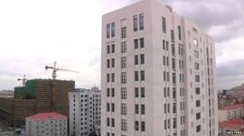 Twelve-storey building in Pudong, Shanghai