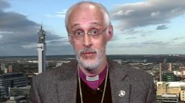 The Bishop of Dudley, the Right Reverend David Walker
