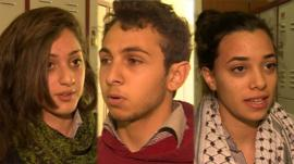 Young Palestinians