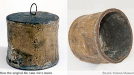 Old tin cans
