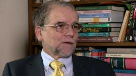 Forensic psychologist Mike Berry