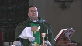 Church mass in Venezuela