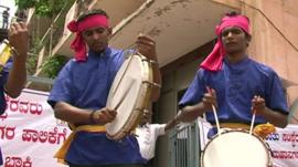 Drummer in India