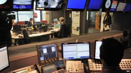 The Queen broadcasting live on Radio 4