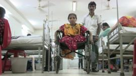 Worker injured in Bangladesh factory collapse