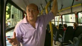 BBC correspondent Alastair Leithead in Brazil