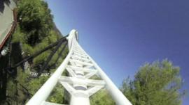 The Full Throttle rollercoaster