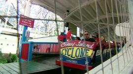 Coney Island rollercoaster