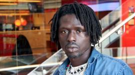 Emmanuel Jal Photo: Manuel Toledo, BBC Africa