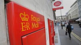 Royal Mail post boxes
