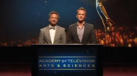 Aaron Paul and Neil Patrick Harris