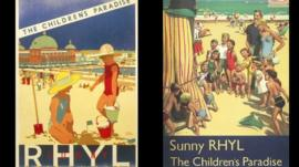 Some posters featured in the book