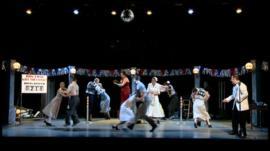 Scene from Dance Derby