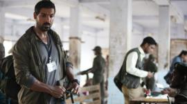 John Abraham in a still from Madras Cafe